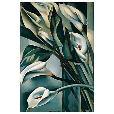 Arums I par Lempicka, toile, 24 x 36 po