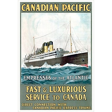 CP Empresses of the Atlantic, Stretched Canvas, 24