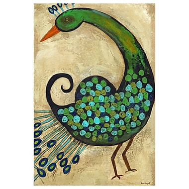 Preening Peacocks 2 by Hempel, Canvas, 24