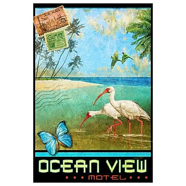 Ocean View 1 by Vest, Canvas, 24