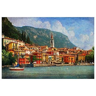 Lake Como Village Italy by Vest, Canvas, 24