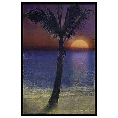 Variation de palmier 2 de Vest, toile, 24 x 36 po