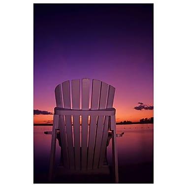 Chair at Dusk by Grandmaison, Canvas, 24