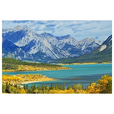 Abraham Lake by Grandmaison, Canvas, 24