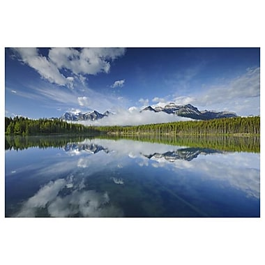 Herbert Lake by Grandmaison, Canvas, 24