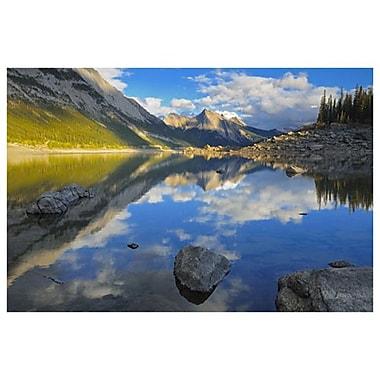 Lac Medicine de Grandmaison, toile de 24 x 36 po