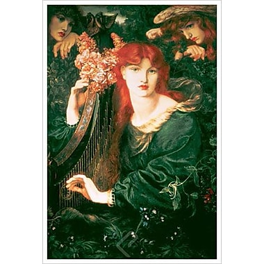 La Ghirlandata by Rossetti, Canvas, 24