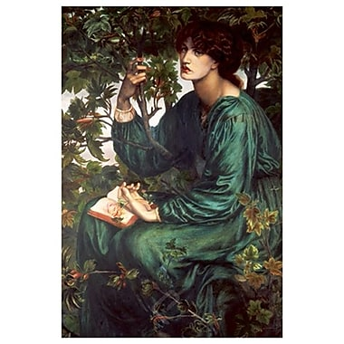Day Dream by Rossetti, Canvas, 24