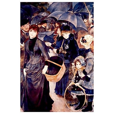 Les Parapluies by Renoir, Canvas, 24