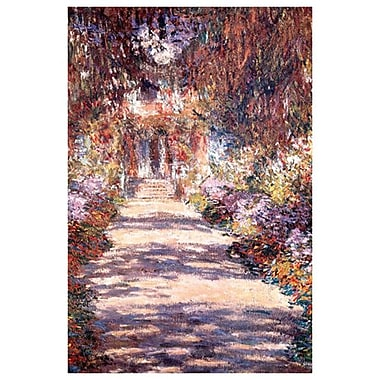 Le Jardin a Giverny by Monet, Canvas, 24