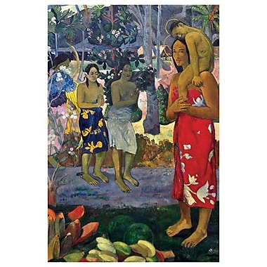 La Orana Maria by Gauguin, Canvas, 24