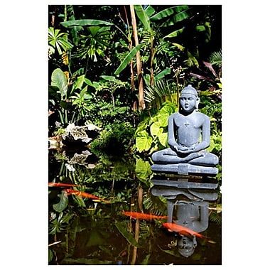 Buddha Garden de Ringlever, toile, 24 x 36 po
