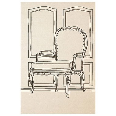 Chair Design II de Orlov, toile, 24 x 36 po