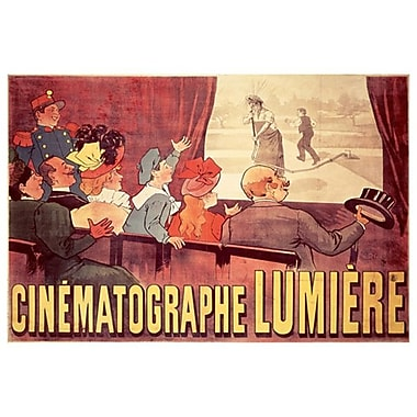 Cinematographe Lumiere, Stretched Canvas, 24