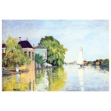 Landscape at Zaandan by Monet, Canvas, 24