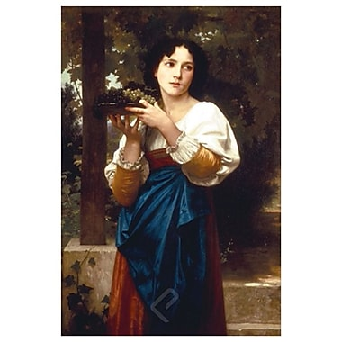 La Treille by Bouguereau, Canvas, 24