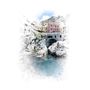 Manarola, Stretched Canvas, 24