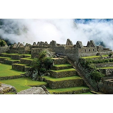 Machu Picchu Inca Architecture, Stretched Canvas, 24