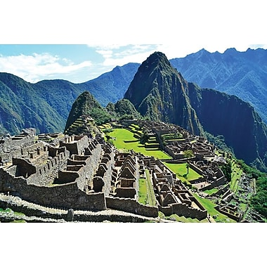 Machu Picchu Scenic View, Stretched Canvas, 24