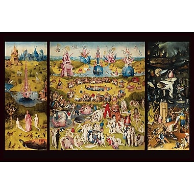 Garden Ehly Delights III by Bosch, Canvas, 24
