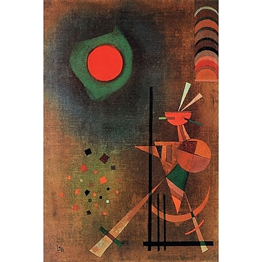 Aufleuchten by Kandinsky, Canvas, 24