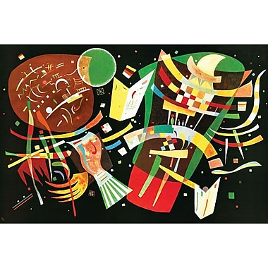 Kandinsky Komposition by Kandinsky, Canvas, 24