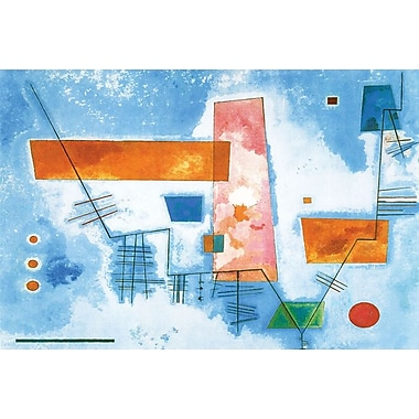 Structure Angulaire by Kandinsky, Canvas, 24