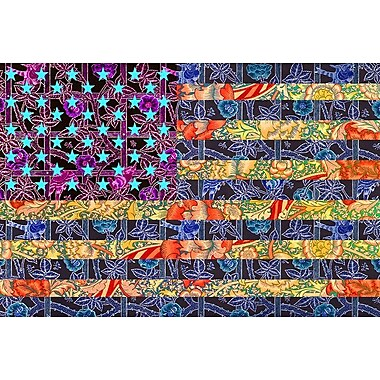America Quilt by SM Design, Canvas, 24