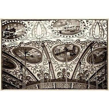 Détails artistiques de la promenade par Nelson, toile, 24 x 36 po