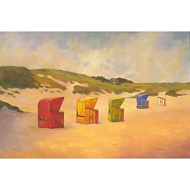Summer Beach II by Reynolds, Canvas, 24