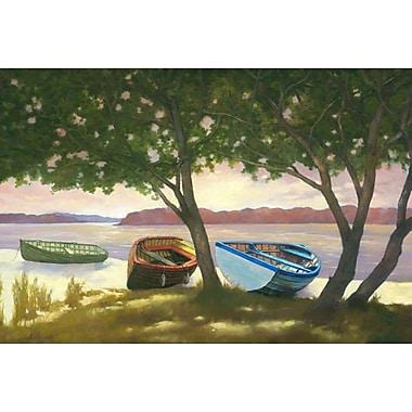 Au bord du lac II par Reynolds, toile, 24 x 36 po
