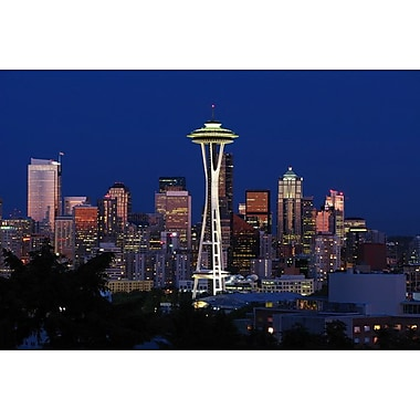 Space Needle by Polk, Canvas, 24
