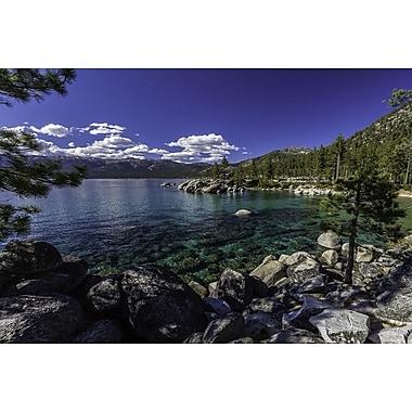 Sand Harbor au lac Tahoe par Polk, toile, 24 x 36 po