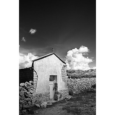 Stark Rustic Chapel by Nalbandian, Canvas, 24