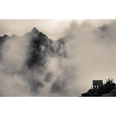 Small House in Foggy Mountains by Nalbandian, Canvas, 24