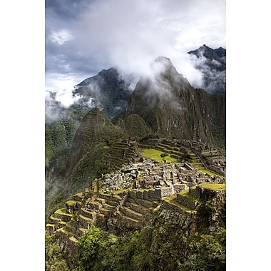 Machu Picchu Sunny Classic by Nalbandian, Canvas, 24