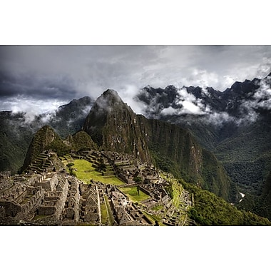 Machu Picchu Sunny Traditional by Nalbandian, Canvas, 24