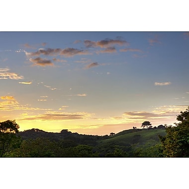 Sunset over Jungle Clearing by Nalbandian, Canvas, 24