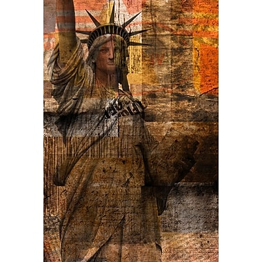 La statue de Ia liberté I par Orlov, toile, 24 x 36 po