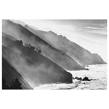 Big Sur Coastline- California, Stretched Canvas, 24