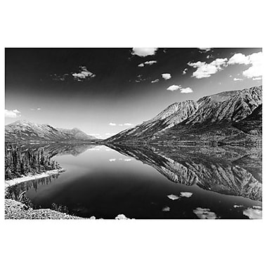 Reflections- Lake Tutshi- BC, Stretched Canvas, 24