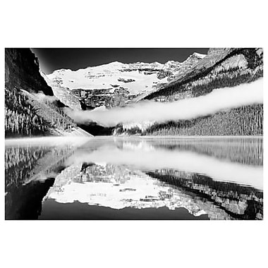 Reflections- Lake Louise-Banff, Stretched Canvas, 24