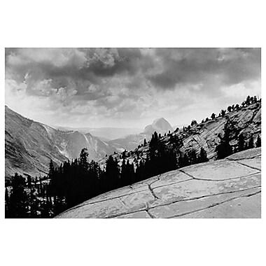 Rochers plats, Yosemite, CA, toile tendue, 24 x 36 po