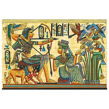 Tutankhamun HuntBirds, Stretched Canvas, 24