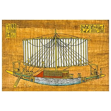 Ancient Sail Boat, Stretched Canvas, 24