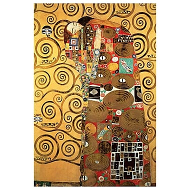 The Fulfillment by Klimt, Canvas, 24