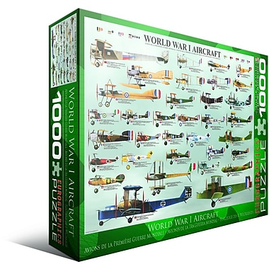 World War I Aircraft Puzzle, 1000 Pieces