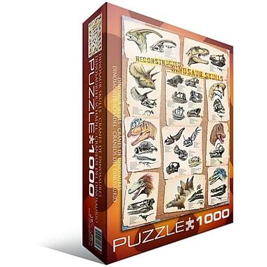 Dinosaur Skulls Puzzle, 1000 Pieces