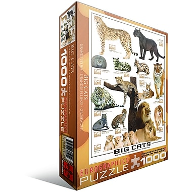 Big Cats Puzzle, 1000 Pieces