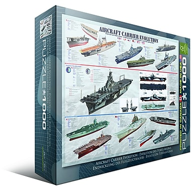 Aircraft Carrier Evolution Puzzle, 1000 Pieces